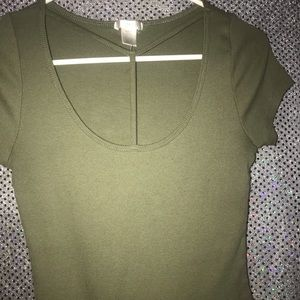 Forest green Lady tee
